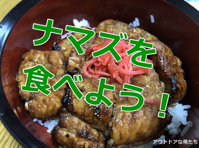 ナマズのかば焼き丼