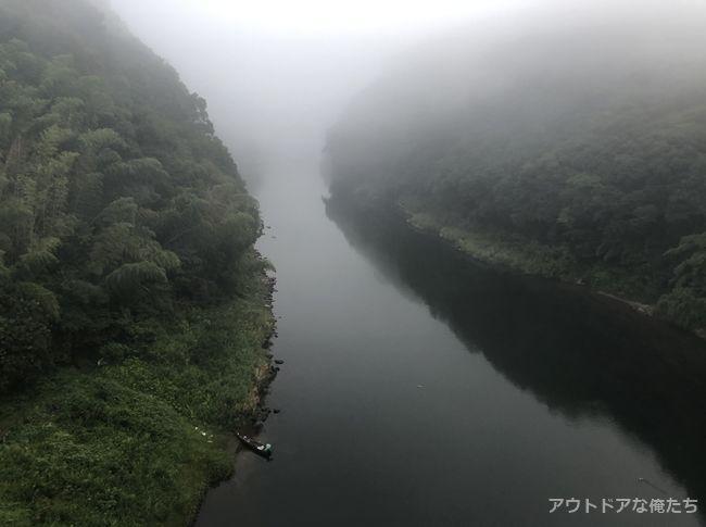 朝の川内川