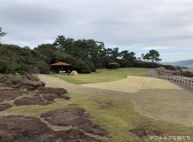 火之神公園キャンプ場