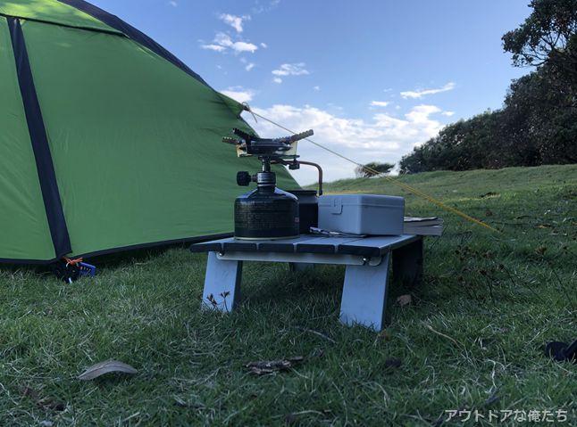 テントとキャンプギア