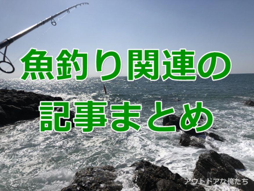 海と魚釣り