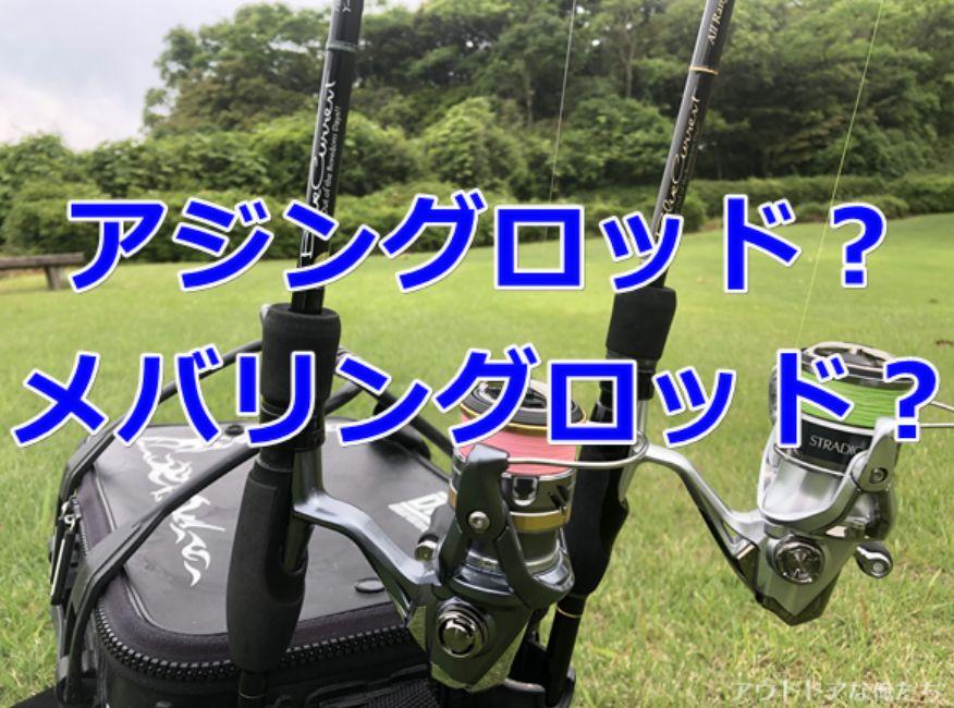 2本の釣り竿
