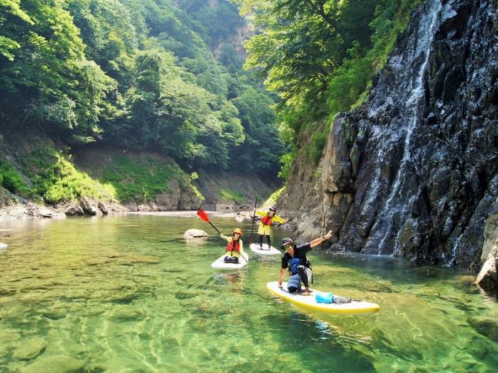 赤谷湖SUP
