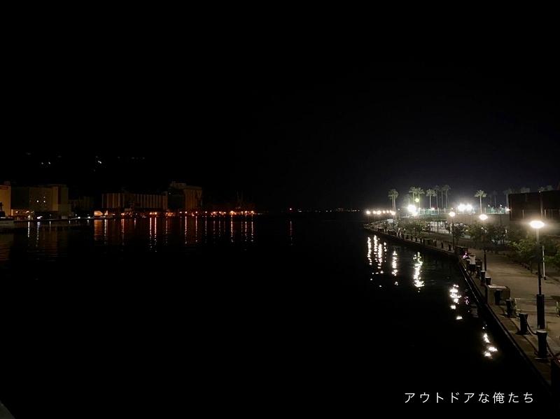 港湾の様子