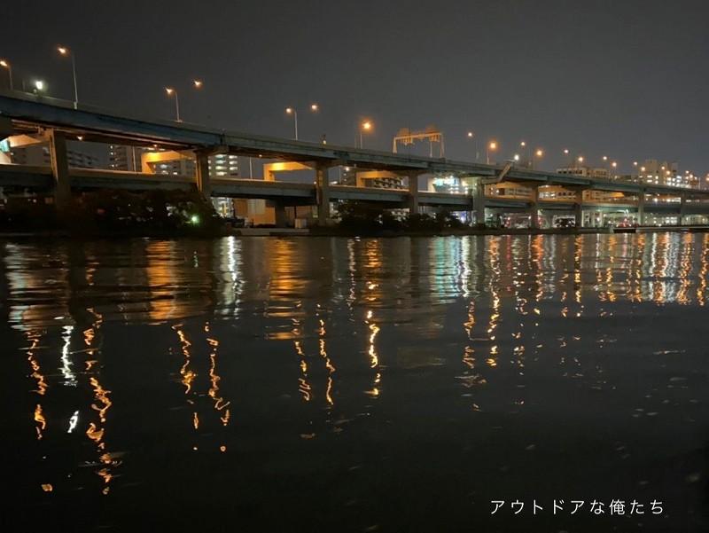 都市型河川河口部