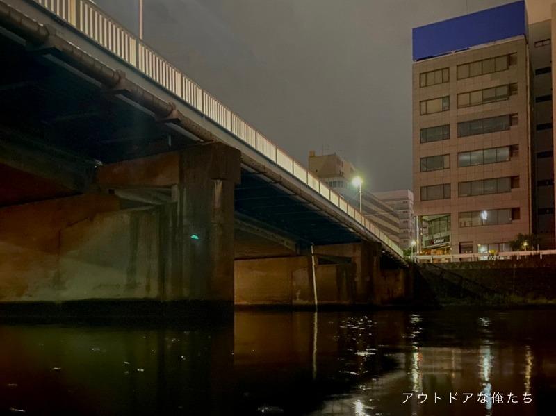 都市型河川の明暗部