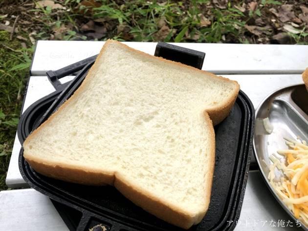 パンとホットサンドメーカー